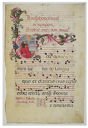 History of Church Music - through 1600
