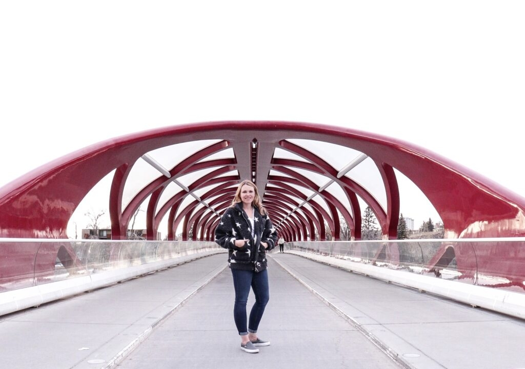 Peace Bridge in Eau Claire