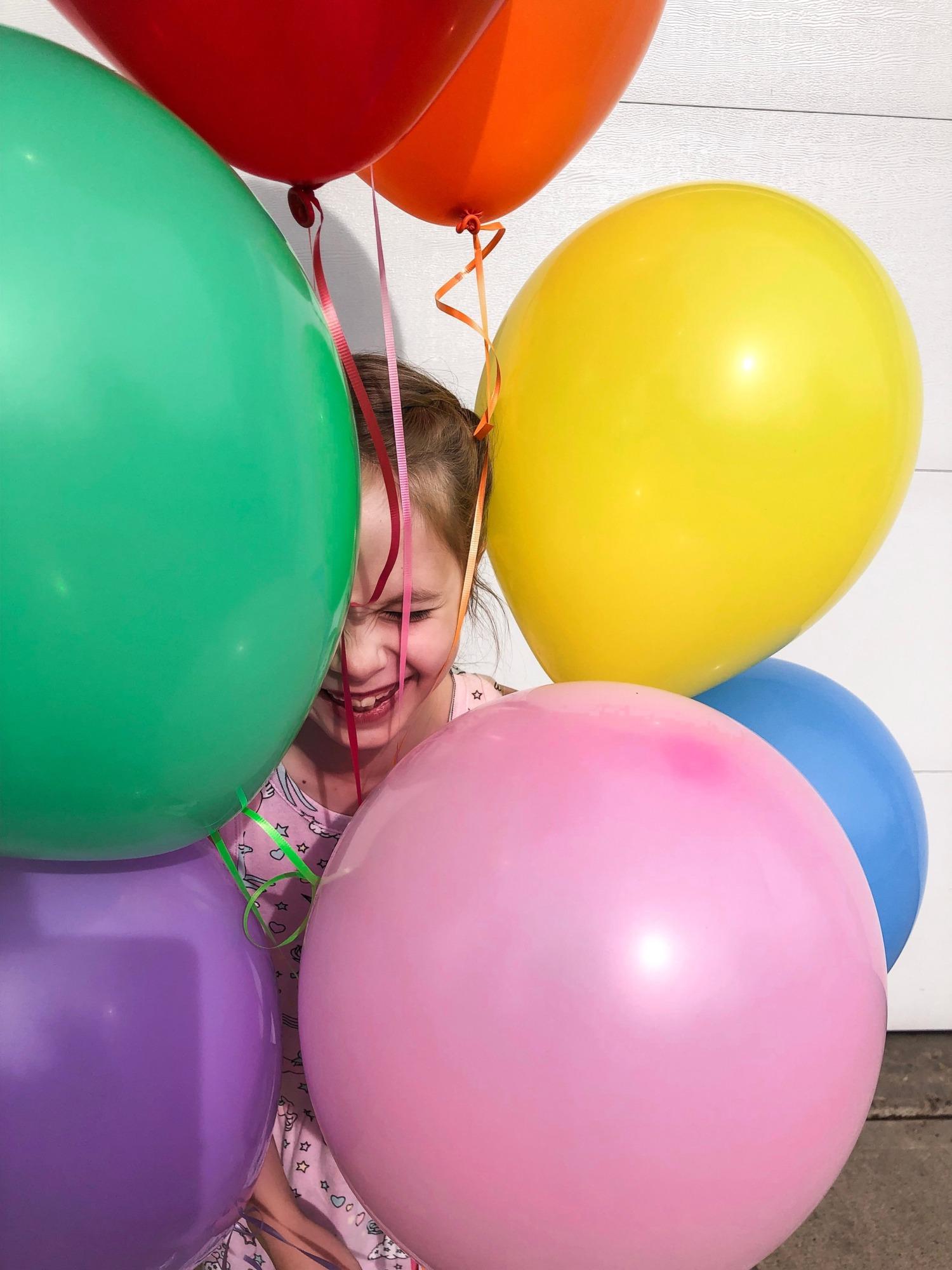The Rec Room Rainbow Birthday Party!