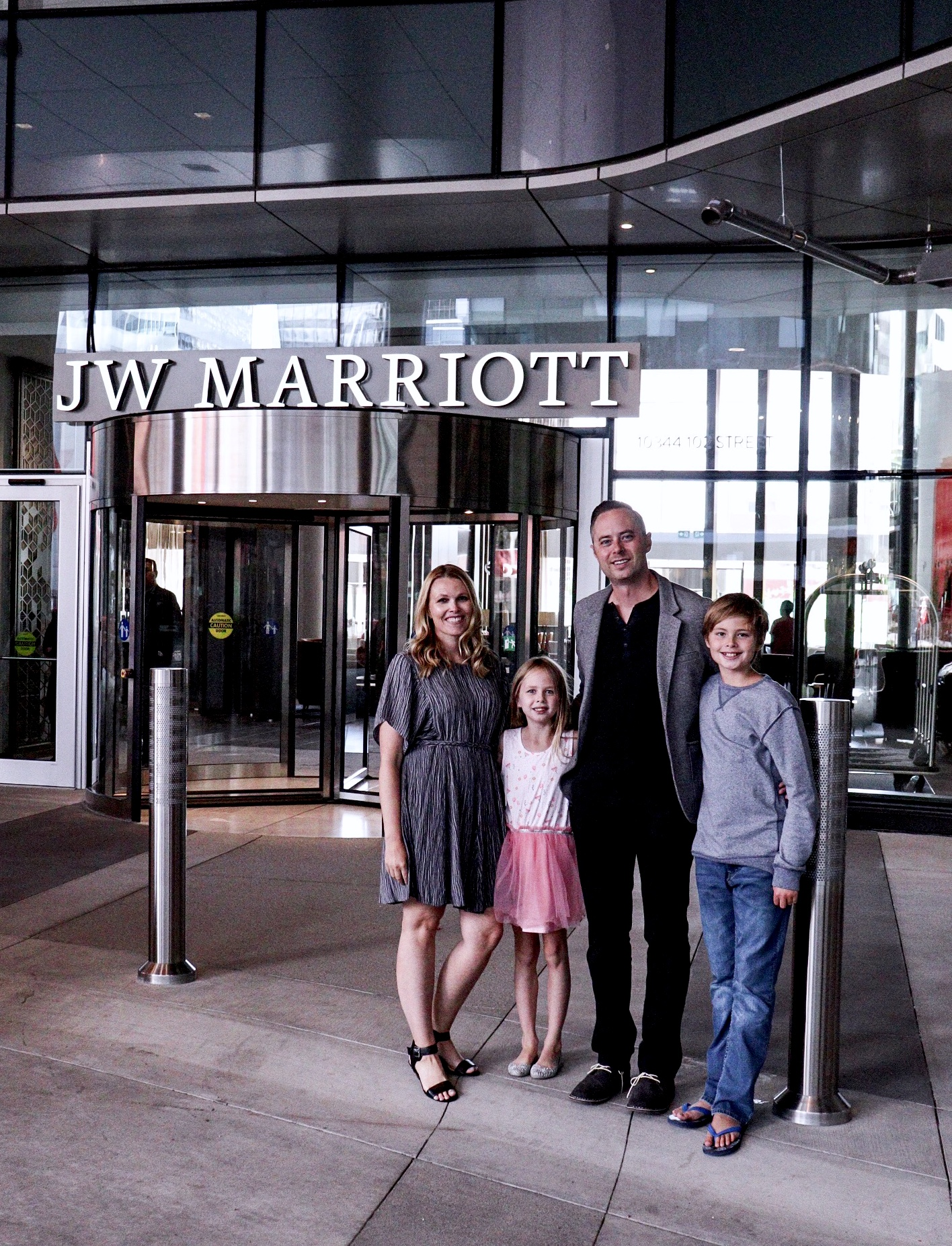 Family Staycation at JW Marriott Edmonton ICE District