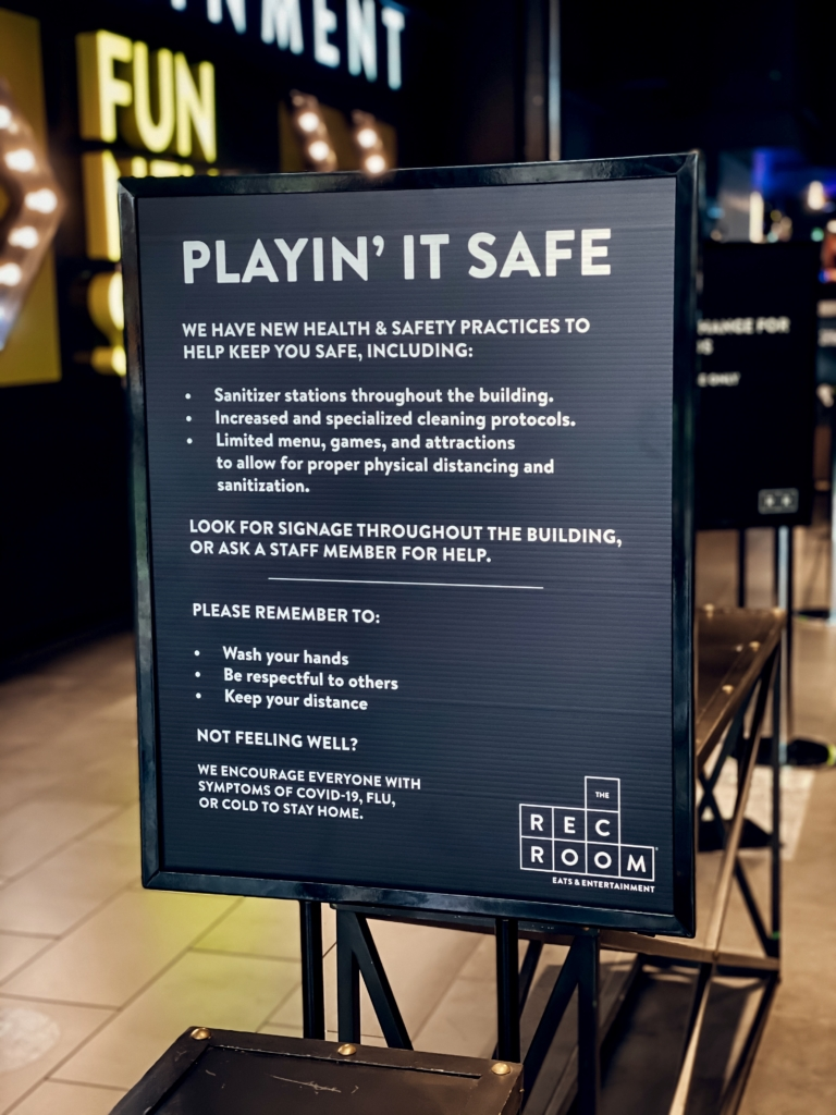 The Rec Room Play It Safe