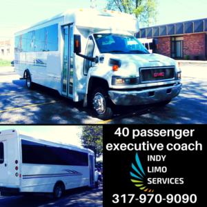 40 passenger executive coach - Indy Limo Services Fleet