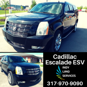 Cadillac Escalade ESV - Indy Limo Services Fleet