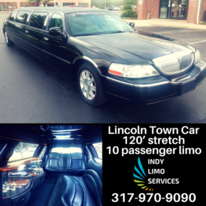 Lincoln Town Car Limo - Indy Limo Services Fleet