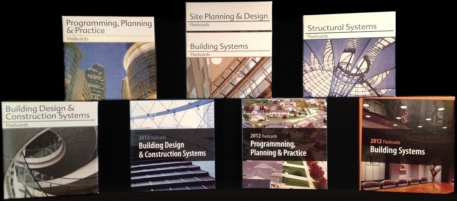 EDITED, UPDATED & ENHANCED 'ARE' PREPARATION FLASHCARDS FOR SUSTAINABLE DESIGN TOPICS