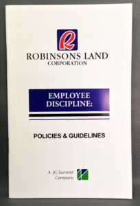 Robinsons Land Corporation Employee Manual