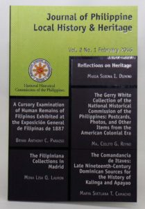 National Historical Commission of the Philippines Journal