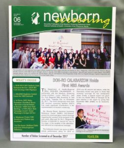 Newborn Screening Newsletter #vjgraphicsoffsetprinting #offsetprinting #vjgraphics #growthroughprint