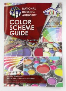 National Housing Authority Color Scheme Guide #vjgraphicsoffsetprinting #vjgraphics #offsetprinting #growthroughprint