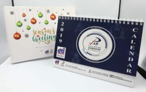DTI Philippine Accreditation Bureau Desk Calendar & Box #vjgraphicsoffsetprinting #vjgraphics #offsetprinting #growthroughprint #deskcalendar #calendar — with DTI Philippines.