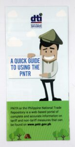 DTI Philippine National Trade Repository Flyers #vjgraphicsoffsetprinting #vjgraphics #offsetprinting #flyers #growthroughprint