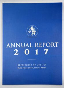 Department of Justice Annual Report #vjgraphicsprinting #growthroughprint #annualreport #offsetprinting — with Dept. of Justice