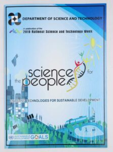Department of Science and Technology Science for the People Souvenir Program #vjgraphicsprinting #offsetprinting #growthroughprint — with DOST-Philippines and DOST- National Capital Region