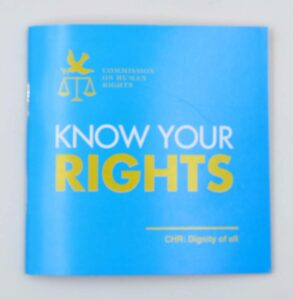 Commission on Human Rights Know Your Rights Booklet #vjgraphicsprinting #offsetprinting #growthroughprint #booklet — with Commission on Human Rights-Human Resource Development Division, Commission on Human Rights, Regional Office No. 4 and Commission on Human Rights of the Philippines