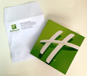 Holiday Inn Invitation #vjgraphicsprinting #growthroughprint #invitations #offsetprinting