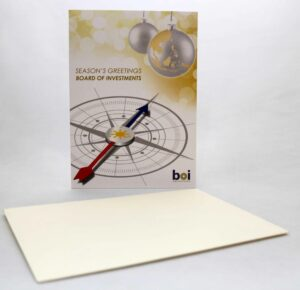 Board of Investments Greeting Cards #vjgraphicsprinting #growthroughprint #invitations #offsetprinting