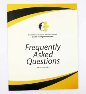 Juvenile Justice and Welfare Council Frequently Asked Questions #vjgraphicsprinting #offsetprinting #growthroughprint #booklet — with Juvenile Justice and Welfare Council