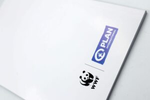 Plan International Philippines Our City 2030 Notebooks #vjgraphicsprinting #offsetprinting #growthroughprint #notebook — with Plan International Philippines and WWF-Philippines
