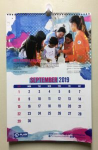 Plan International Philippines Wall Calendar #vjgraphicsprinting #growthroughprint #offsetprinting #wallcalendar #calendar — with Plan International Philippines in Quezon City, Philippines