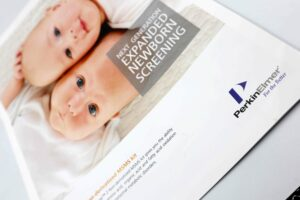 PerkinElmer Next Generation Expanded Newborn Screening Brochure #vjgraphicsprinting #offsetprinting #growthroughprint #brochures — with PerkinElmer Singapore and PerkinElmer Instruments (Philippines) Corporation