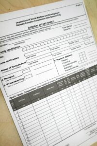 Department of Social Welfare and Development General Intake Sheet Forms #vjgraphicsprinting #offsetprinting #growthroughprint #forms — with DSWD FO 3, DSWD NCR, DSWD, Dswd -Ncr, Legarda, Manila and DSWD Region IV-A