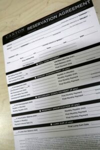 Canyon Estates Reservation Agreement Form #vjgraphicsprinting #offsetprinting #forms #growthroughprint — with Canyon woods residential resort, Canyon Cove Beach Resort, Canyon Cove Beach Club and Canyon Woods Tagaytay