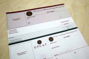 University of the Philippines UPCAT Test Permit Form #vjgraphicsprinting #growthroughprint #offsetprinting #forms — with UPCAT - U.P. System and UPCAT