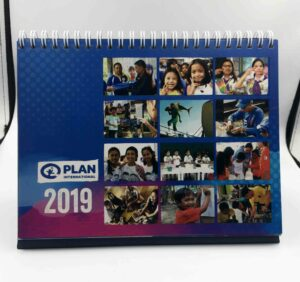 Plan International Philippines Desk Calendar #vjgraphicsprinting #growthroughprint #offsetprinting #deskcalendar #calendar — with Plan International Philippines in Quezon City, Philippines