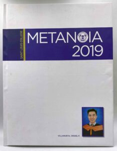 Saint Louis College Metanoia 2019 Yearbook #vjgraphicsprinting #offsetprinting #digitalprinting #yearbook #vjgraphics #personalized