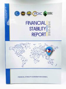 Bangko Sentral ng Pilipinas Financial Stability Report #vjgraphicsprinting #growthroughprint #annualreport #offsetprinting — with Bangko Sentral ng Pilipinas, Department of Finance, Securities and Exchange Commission and Insurance Commission in Quezon City, Philippines