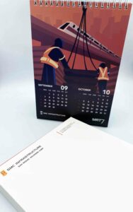 SMC Infrastructure Desk Calendar #vjgraphicsprinting #offsetprinting #growthroughprint #calendars #deskcalendars
