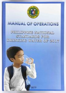 Department of Health Manual of Operations Philippine National Standards for Drinking Water of 2017 #vjgraphicsprinting #growthroughprint #offsetprinting #manual #digitalprinting — with Department of Health and Department of Health (Philippines) in Quezon City, Philippines.
