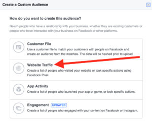 Gym Marketing: Facebook Custom Audience Options