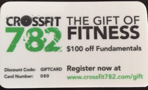CF782 Marketing Gift Card