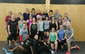 The 6:00 am class at CrossFit 782.