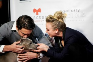 Kaley Cuoco, Ryan Sweeting & Angel