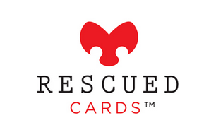 rescued cards logo