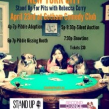 APRIL 23rd STAND UP FOR PITS NYC!!!!