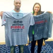 BRANDON BOYKIN Supports the One Million PIBBLE March!