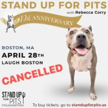 SUFP BOSTON CANCELLED