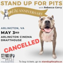 SUFP Arlington, VA cancelled