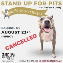 RALEIGH Stand Up For Pits – CANCELLED