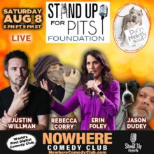STAND UP FOR PITS VIRTUAL SHOW HAPPENING AUGUST 8th!!