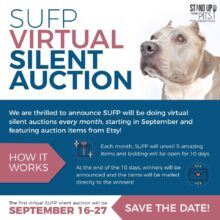 Stand Up For Pits VIRTUAL Silent Auction is now LIVE!!!!