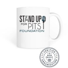 NEW and CLASSIC Stand Up For Pits Merchandise is available NOW!