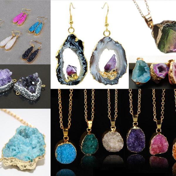 DIY Borax Crystal Jewelry