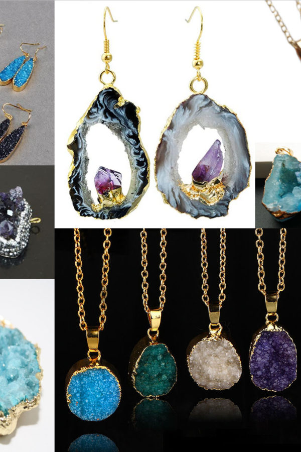 DIY Borax Crystal Jewelry