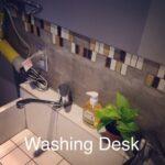 wahsing desk