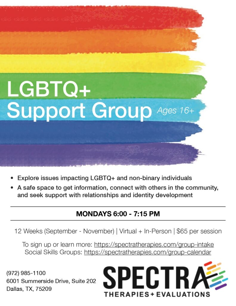 LGBTQ+ Support Group