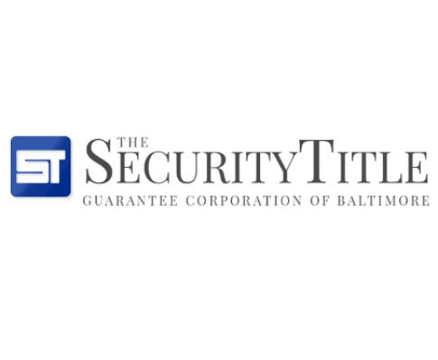 Security Title Baltimore Maryland State Spring Seminar